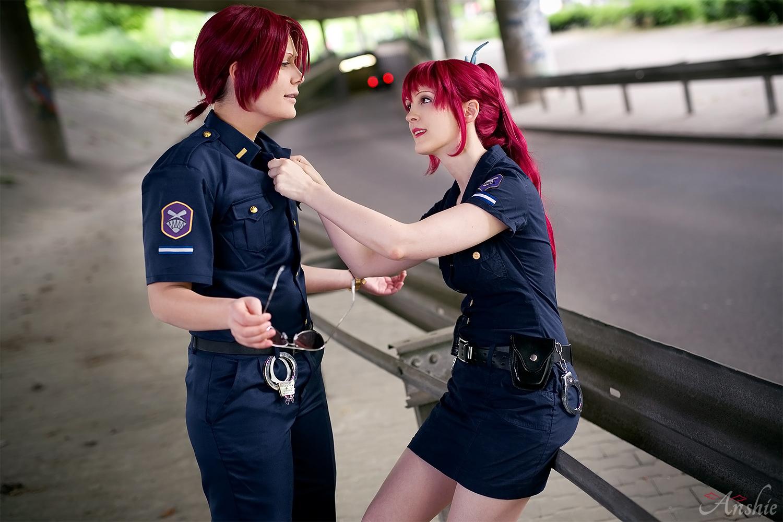 Matsuoka Gou Police Officer Officer rin has finally caught the merman haruka nanase! anshie anshie